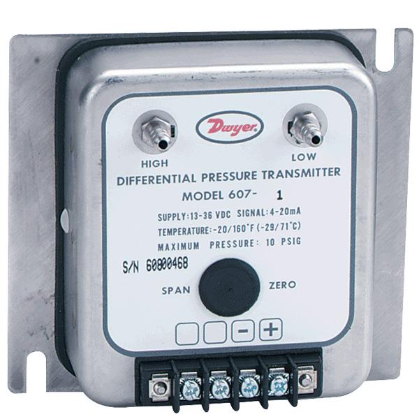 Dwyer-607_Differenzdruckumformer