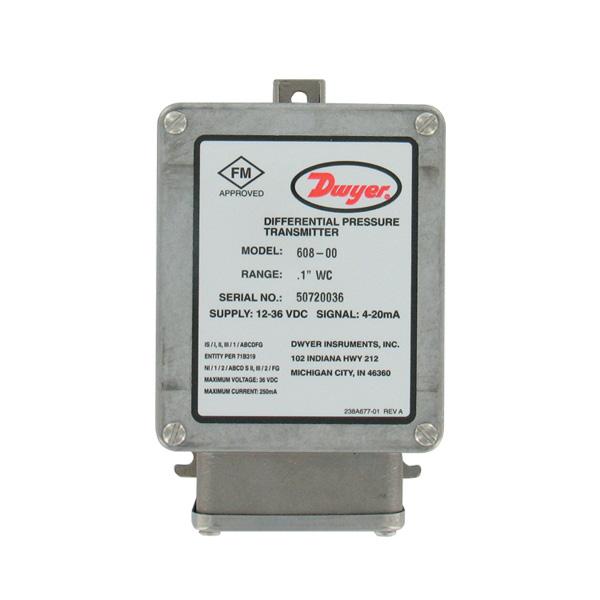 Dwyer-608_Differenzdruckumformer